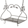 Stone County Ironworks 36-in x 19-in Standard Black Rectangle Pot Rack