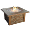 Outdoor Greatroom Company 80000 BTU 48-in Mocha Stone Liquid Propane Fire Pit