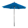 Phat Tommy Octagon Marina Blue Umbrella with Pulley (Common: 9-ft x 9-ft; Actual: 9-ft x 9-ft)