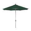 Phat Tommy 9-ft Hunter Green Market Umbrella