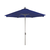 Phat Tommy Octagon Navy Blue Market Umbrella with Tilt-and-Crank (Common: 9-ft x 9-ft; Actual: 9-ft x 9-ft)