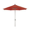 Phat Tommy Octagon Red Market Umbrella with Tilt-and-Crank (Common: 9-ft x 9-ft; Actual: 9-ft x 9-ft)