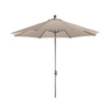 Phat Tommy Octagon Champagne Market Umbrella with Tilt-and-Crank (Common: 9-ft x 9-ft; Actual: 9-ft x 9-ft)
