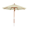 Phat Tommy 9-ft Natural Market Umbrella