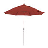 Phat Tommy Octagon Tuscan Market Umbrella with Tilt-and-Crank (Common: 9-ft x 9-ft; Actual: 9-ft x 9-ft)