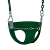 Gorilla Playsets Green Toddler Swing