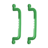 Gorilla Playsets Set of 2 Green Grab Handles