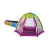 Pacific Play Tents Fun Zone Tent and I-See-U Tunnel Plastic Playhouse Kit
