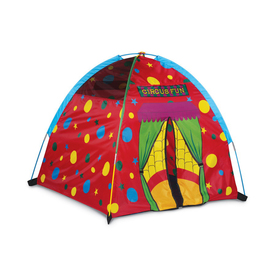 Pacific Play Tents Circus Of Fun Dome Tent Plastic Playhouse Kit