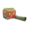Pacific Play Tents Grand Central Train Station Tent and Tunnel Combo Playhouse Kit