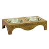 UMA Enterprises Double Basin Pet Bowl