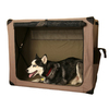 ABO Gear 3-ft x 2-ft x 2.5-ft Collapsible Plastic Pet Crate