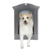 Classy Custom X-Large Charcoal Pet Door
