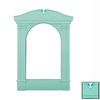 Classy Custom Sherbet Alley Mint Large Decorative Frame