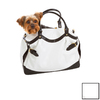 Designer Pet Products 1.33-ft x 0.58-ft x 0.83-ft Dove White Pet Carrier