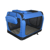 Go Pet Club 3.3-ft x 2.25-ft x 2.25-ft Blue Collapsible Pet Crate
