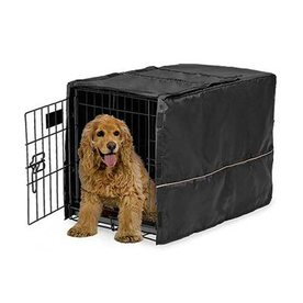midwest pets 30.5-in L x 20-in W Polyester Shade Kennel Cover