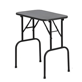 midwest pets Midwest Pets G3 Black Electro Coat Plywood 30Inch x 18Inch Grooming Table Dog Grooming Table