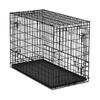 midwest pets 3.5-ft x 1.75-ft x 2.5-ft Black Collapsible Plastic Pet