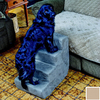 Snoozer Economy 4-Step Khaki Foam Pet Step