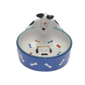 Snoozer Ceramic Dog Bowl