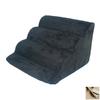 Snoozer Scalloped 4-Step Buckskin Foam Pet Step