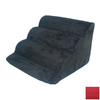 Snoozer Scalloped 6-Step Red Foam Pet Step