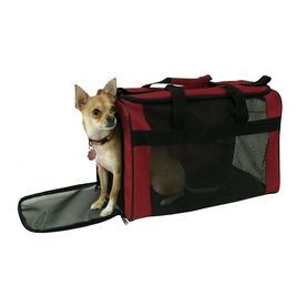 Snoozer 1.5-ft x 1-ft x 1-ft Red Collapsible Pet Crate