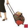 Snoozer 1.16-ft x 0.91-ft x 1.66-ft Red Pet Carrier