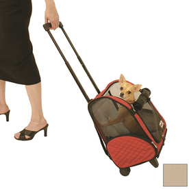 Snoozer 1.16-ft x 0.91-ft x 1.66-ft Khaki Pet Carrier