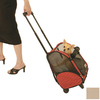 Snoozer 1.29-ft x 1.02-ft x 1.91-ft Khaki Pet Carrier