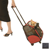 Snoozer 1.29-ft x 1.02-ft x 1.91-ft Black Pet Carrier