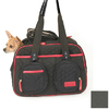 Snoozer 1.25-ft x 0.6-ft x 1-ft Black Quilted Pet Carrier