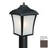 Cascadia Lighting Boardwalk 15-3/8-in Oil-Rubbed Bronze Post Light