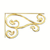 Artesano Iron Works Cast Bronze Shelf Bracket