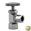 Westbrass Polished Brass Angle Valve