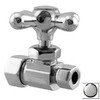 Westbrass Polished Chrome Straight Valve