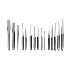 K Tool International 15-Piece Punch and Chisel Set