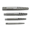 KD Tools 4-Piece Spiral Fluted Screw Extractor Set
