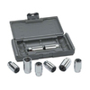 KD Tools 8-Piece Metric/SAE Stud Removal Kit