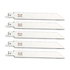 Morris Products 5-Pack 6-in 18 TPI Bi-Metal Reciprocating Saw Blades