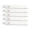 Morris Products 5-Pack 6-in 24-TPI Bi-Metal Reciprocating Saw Blade Set