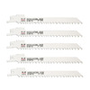 Morris Products 5-Pack Bi-Metal Reciprocating Saw Blades