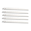 Morris Products 5-Pack 12-in 10-TPI Bi-Metal Reciprocating Saw Blades