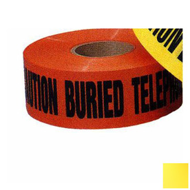 Morris Products 3-in x 1,000-ft Yellow Safety Tape