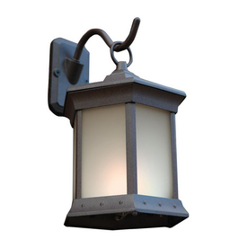 shop outdoor greatroom company powder coat solar powered path light at. Black Bedroom Furniture Sets. Home Design Ideas