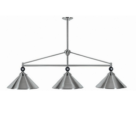 RAM Gameroom Products Empire Stainless Steel Pool Table Lighting