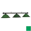 RAM Gameroom Products Marseilles Matte Black Pool Table Lighting