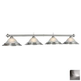 RAM Gameroom Products Stainless Steel Pool Table Lighting
