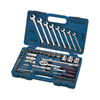 Industro 68-Piece Ratcheting Wrench Set with Case